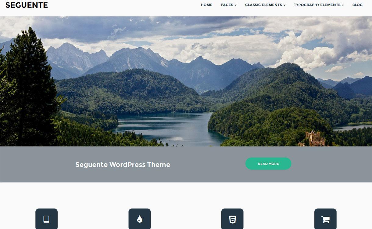 Seguente - Free Multi-purpose WordPress Theme