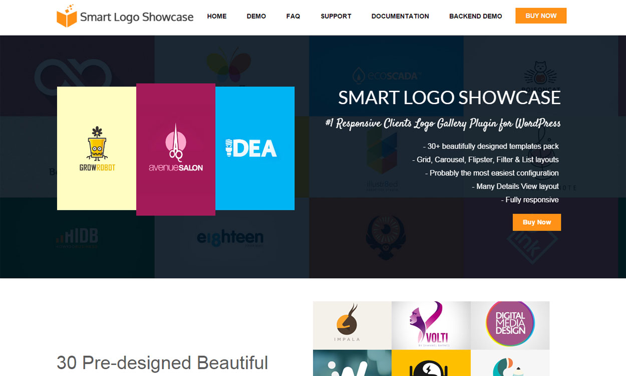 Smart Logo Showcase - Premium Client Logo Gallery Plugin