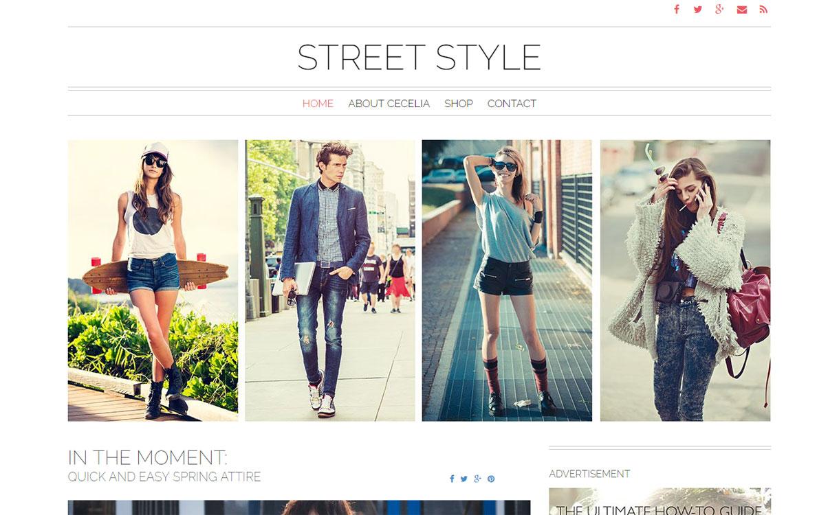 Street Style - Premium WordPress Blog Theme