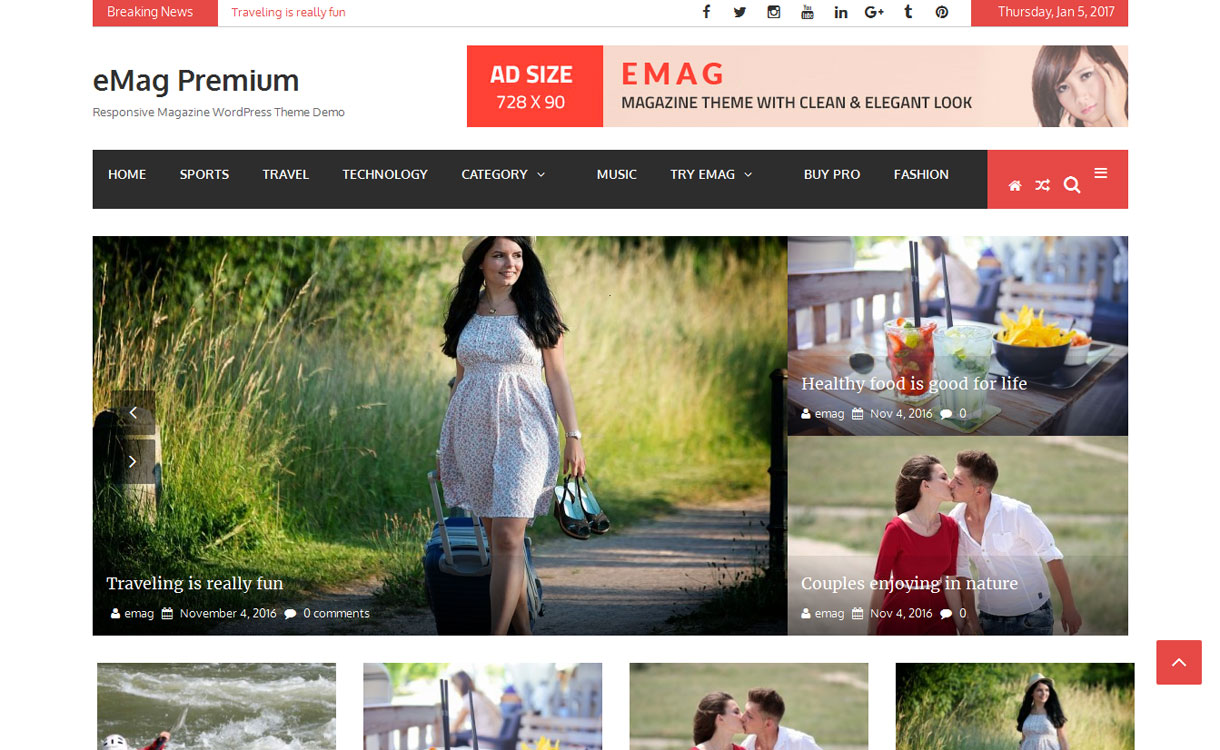 emag - 11+ Best Free Responsive WordPress Themes January 2017