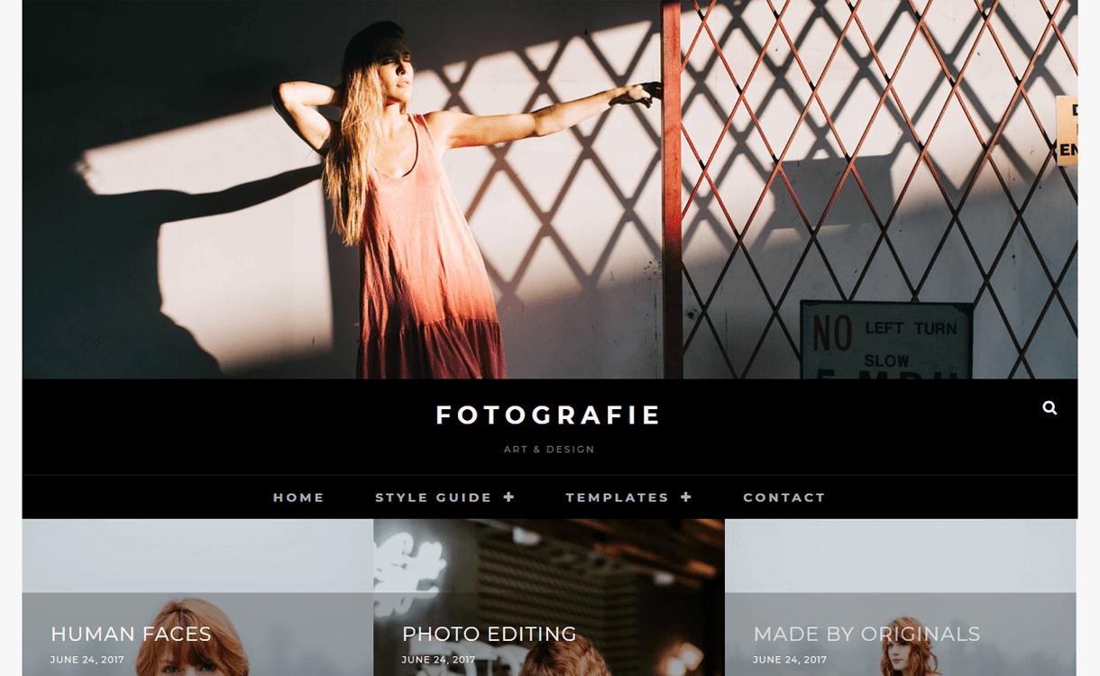 Fotografie-Best Free WordPress Photography Themes