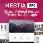 Hestia - #1 Material Design WordPress Theme