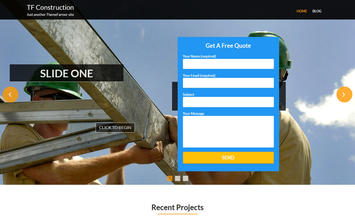 tf construction best free c - 20+ Best Free WordPress Construction Company Themes for 2019