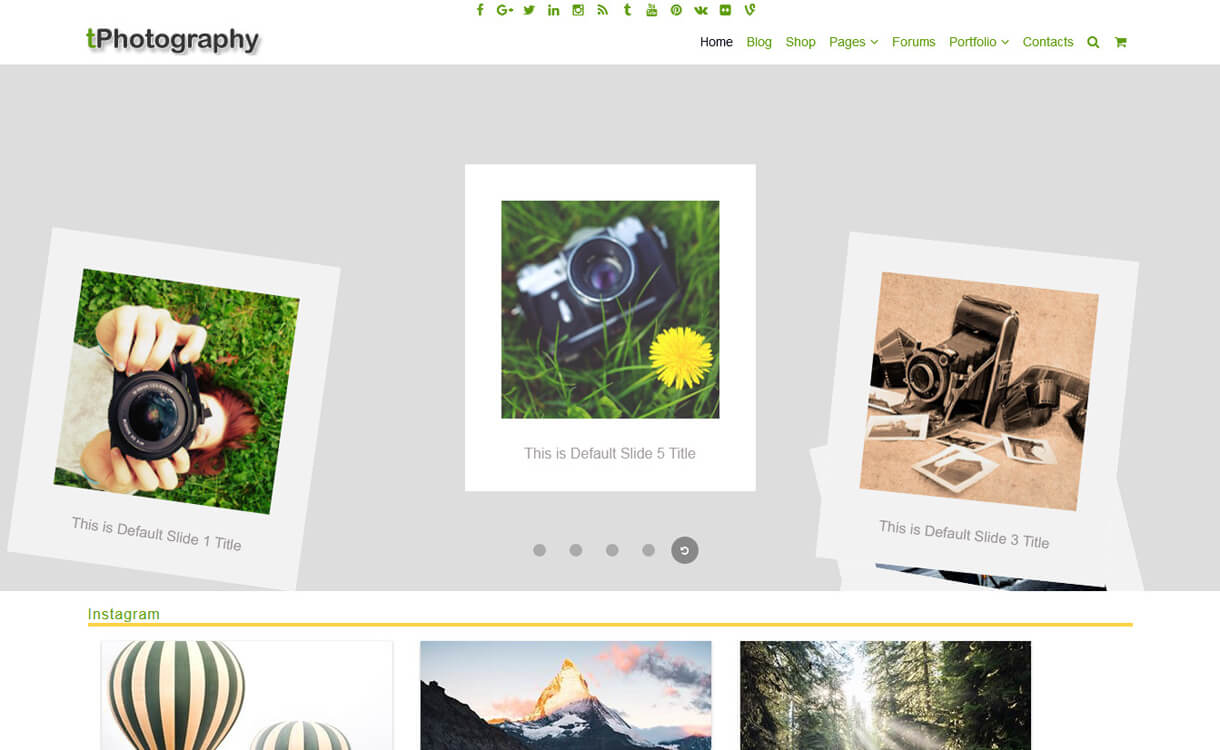 tphotography best free photography wordpress themes - 30+ Best Free WordPress Photography Themes for 2019