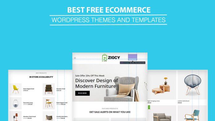Best Free WordPress eCommerce Online Store WooCommerce Themes