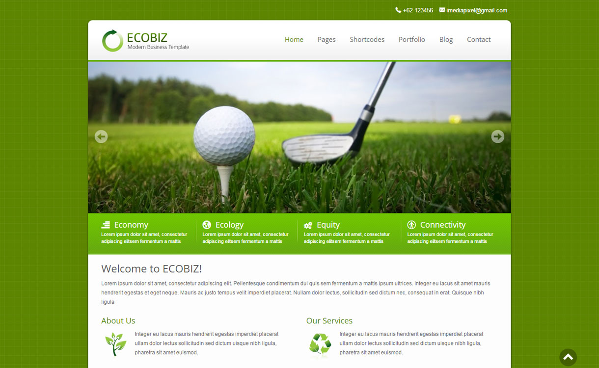 Ecobiz - 30+ Best Premium WordPress Business/Agency Themes for 2019