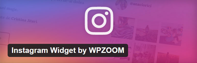 Instagram Widget - Free Social WordPress Plugin
