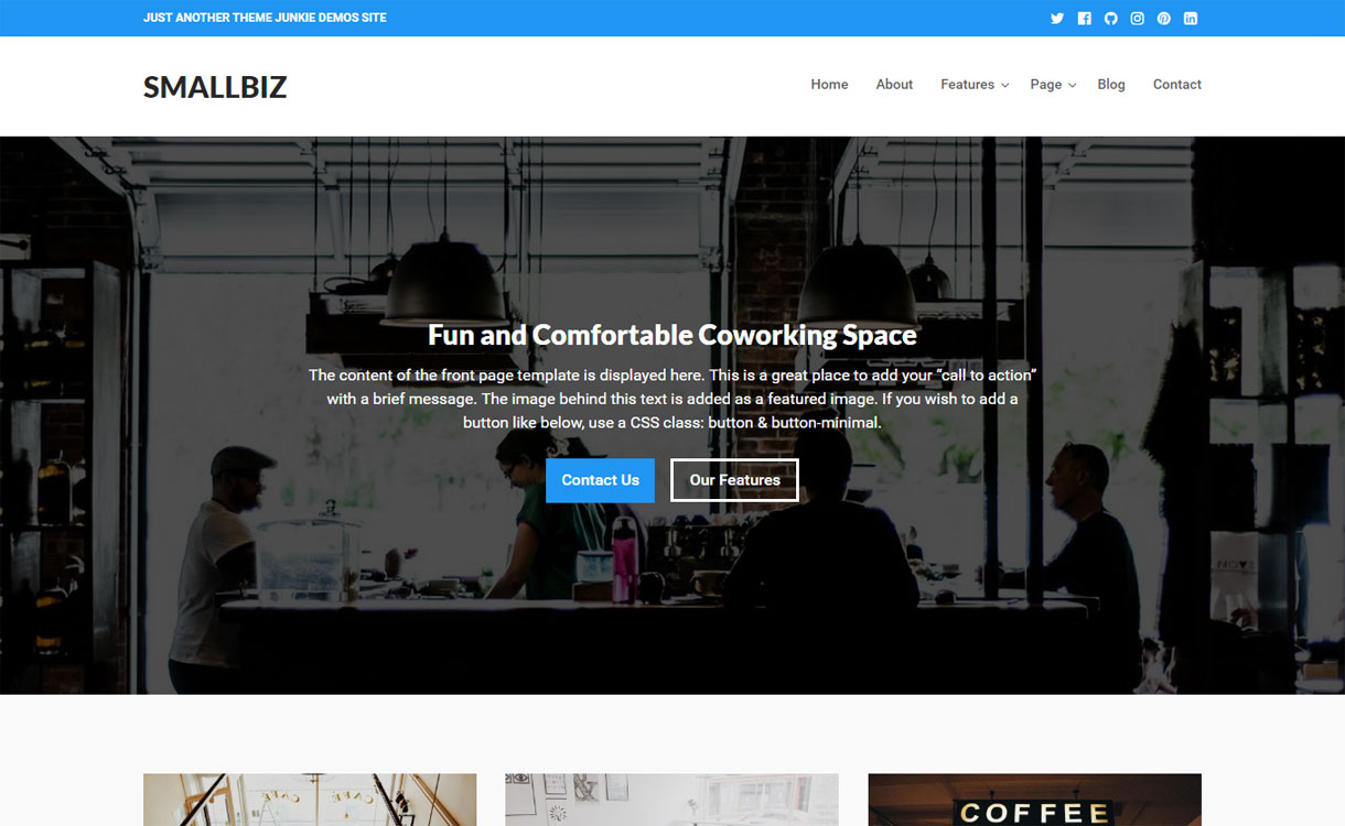 Smallbiz - 30+ Best Premium WordPress Business/Agency Themes for 2019