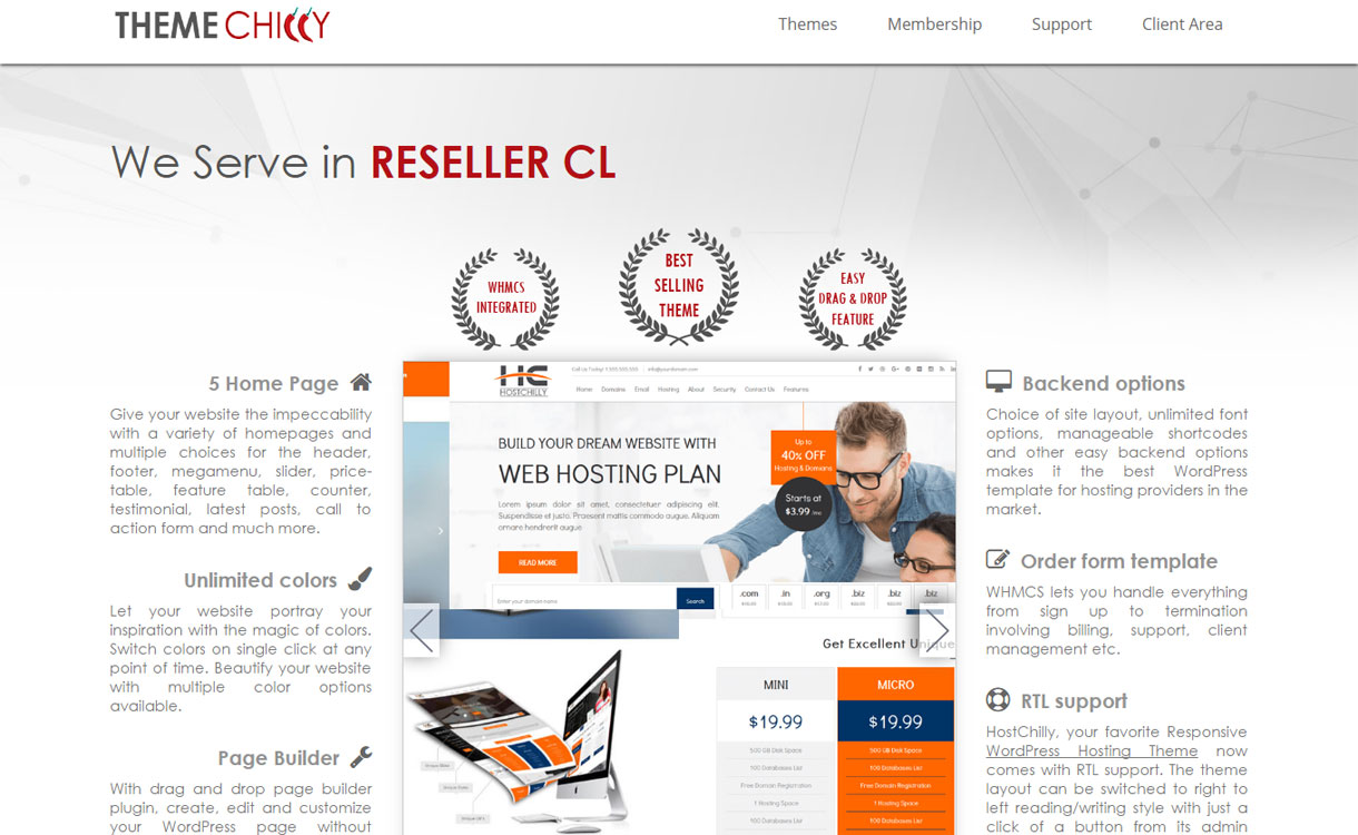 ThemeChily - Best WordPress Theme Stores