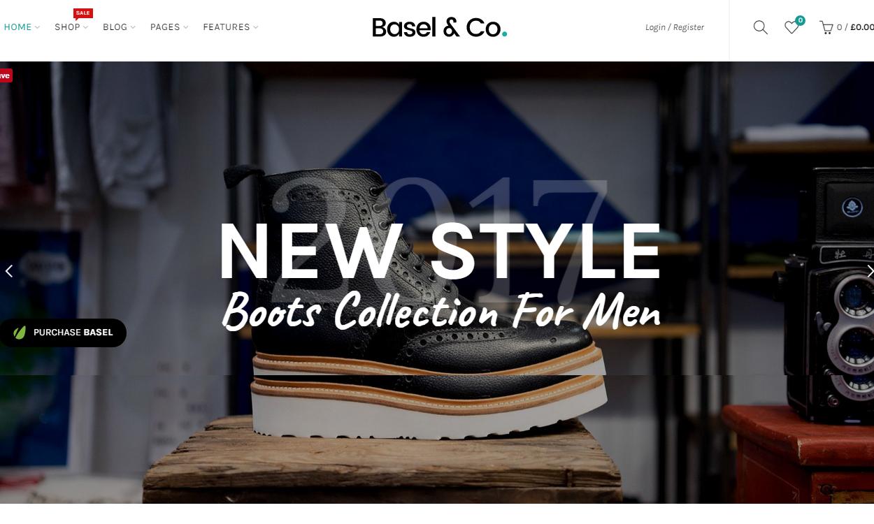Basel - Best Premium WordPress eCommerce/WooCommerce/Online Store Themes