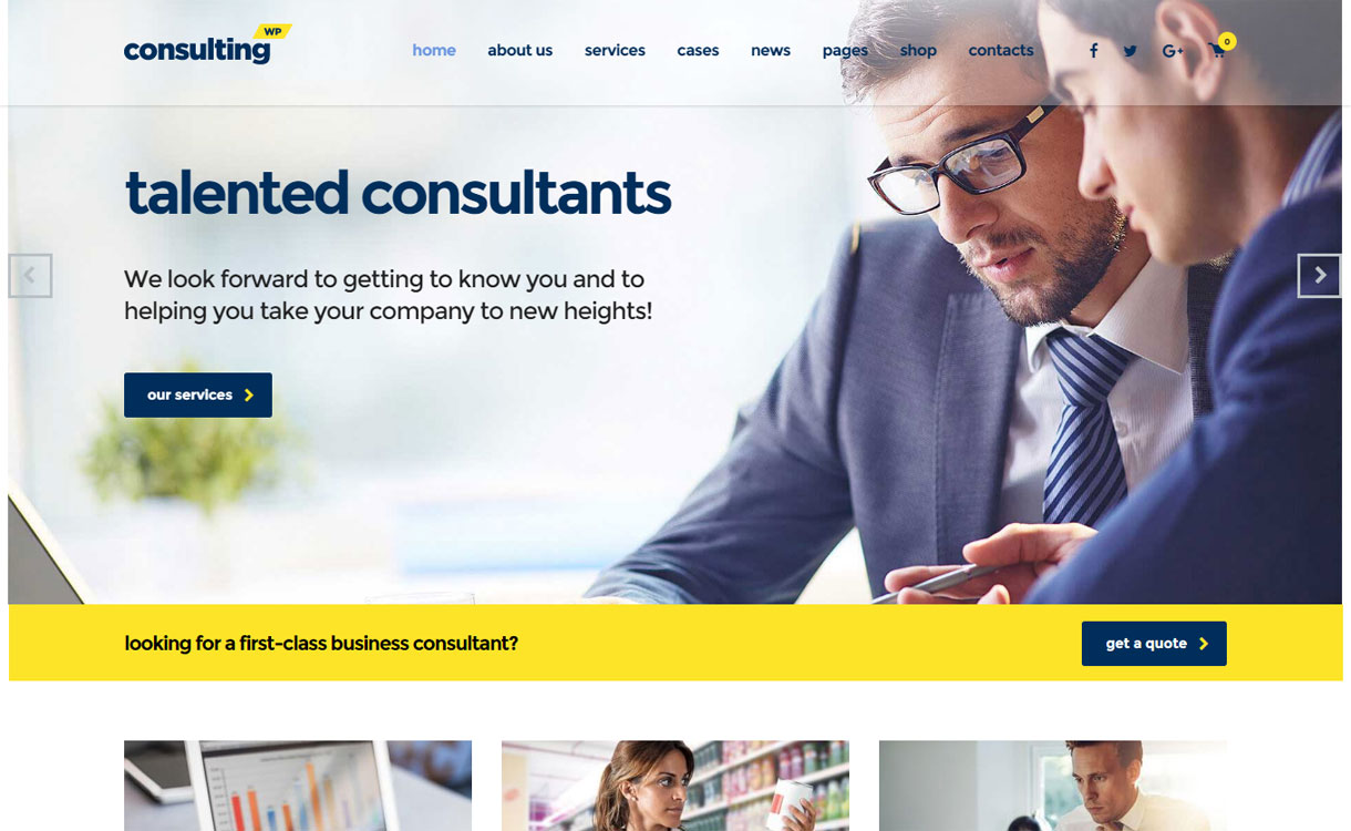 Consulting - Best Premium WordPress Business Agency Themes