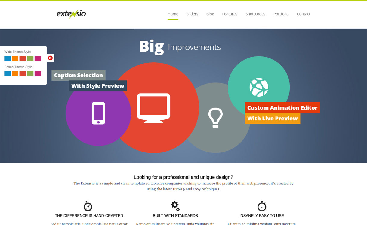 extensio 1 - 30+ Best Premium WordPress Business/Agency Themes for 2020
