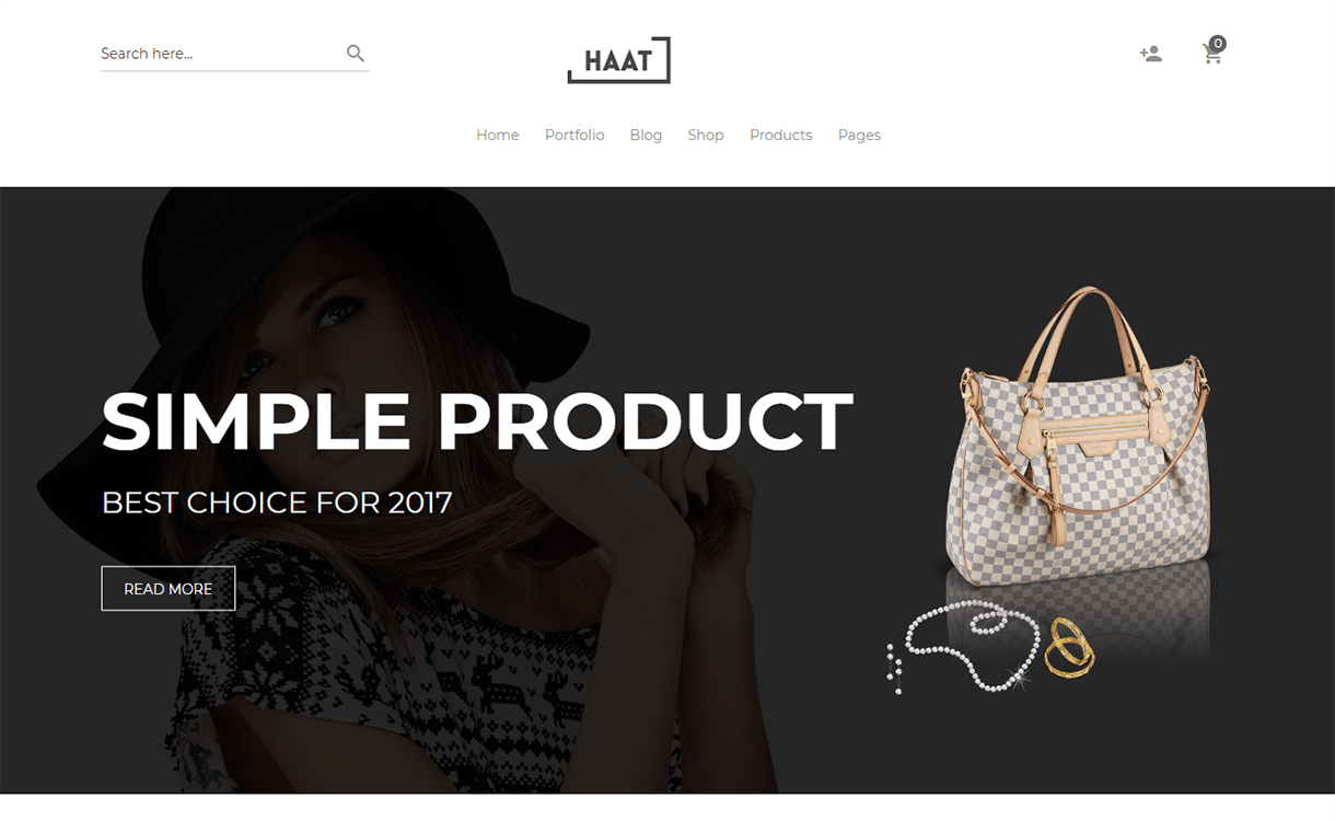haat premium woocommerce wordpress theme - 30+ Best Premium WordPress eCommerce/WooCommerce/Online Store Themes 2019