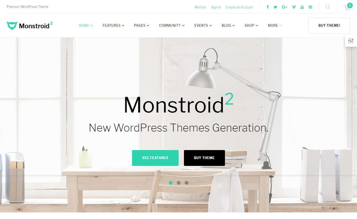 Monstroid2 - Premium Multipurpose WordPress Theme