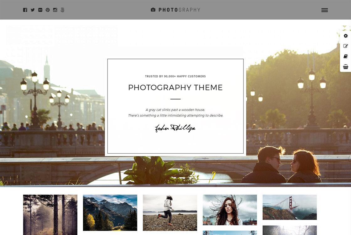 Photography - Best Premium WordPress Photography Themes