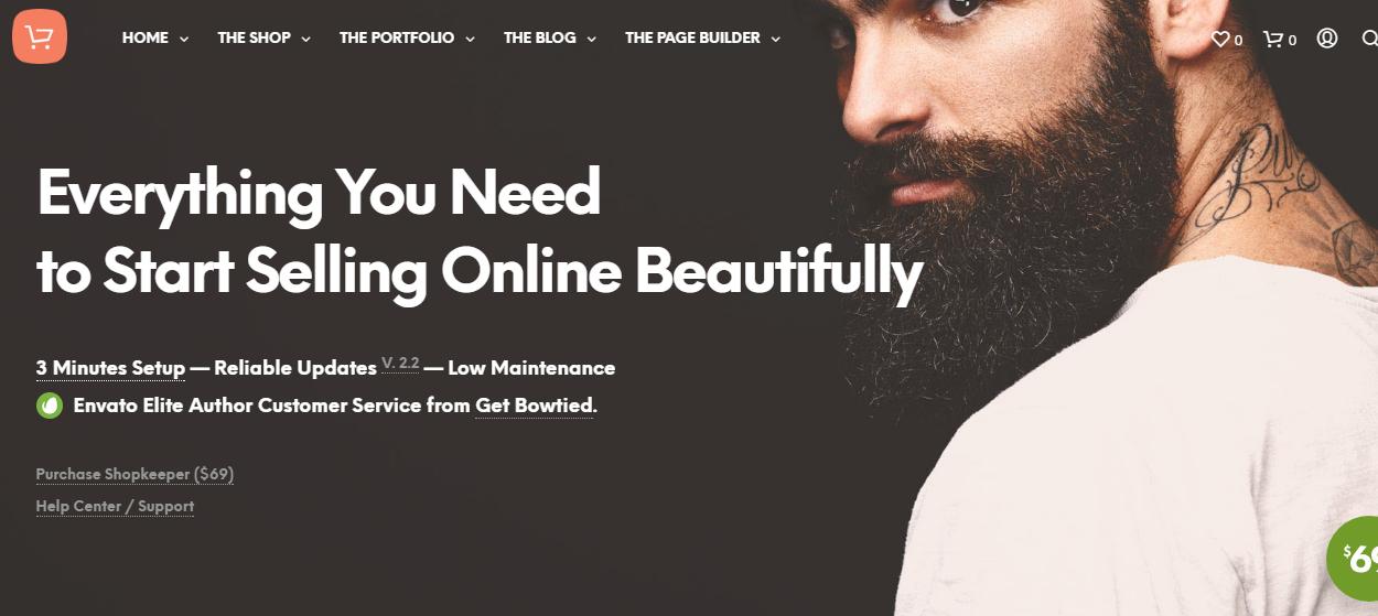 shopkeeper - 30+ Best Premium WordPress eCommerce/WooCommerce/Online Store Themes 2019