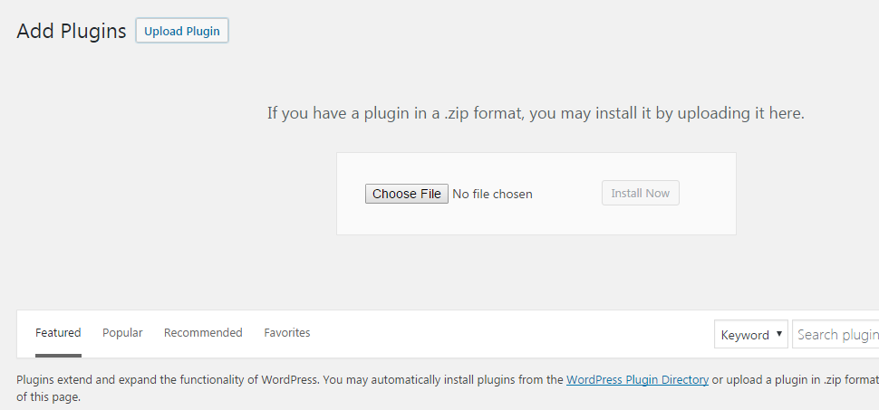 w2step3 - How to install a new plugin in WordPress website?