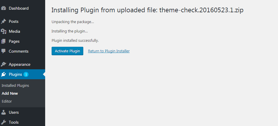 w2step4 - How to install a new plugin in WordPress website?