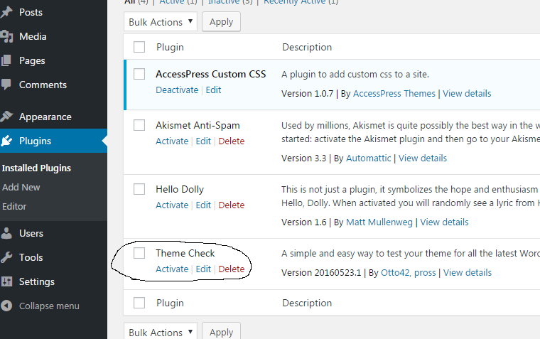 w3step2 - How to install a new plugin in WordPress website?
