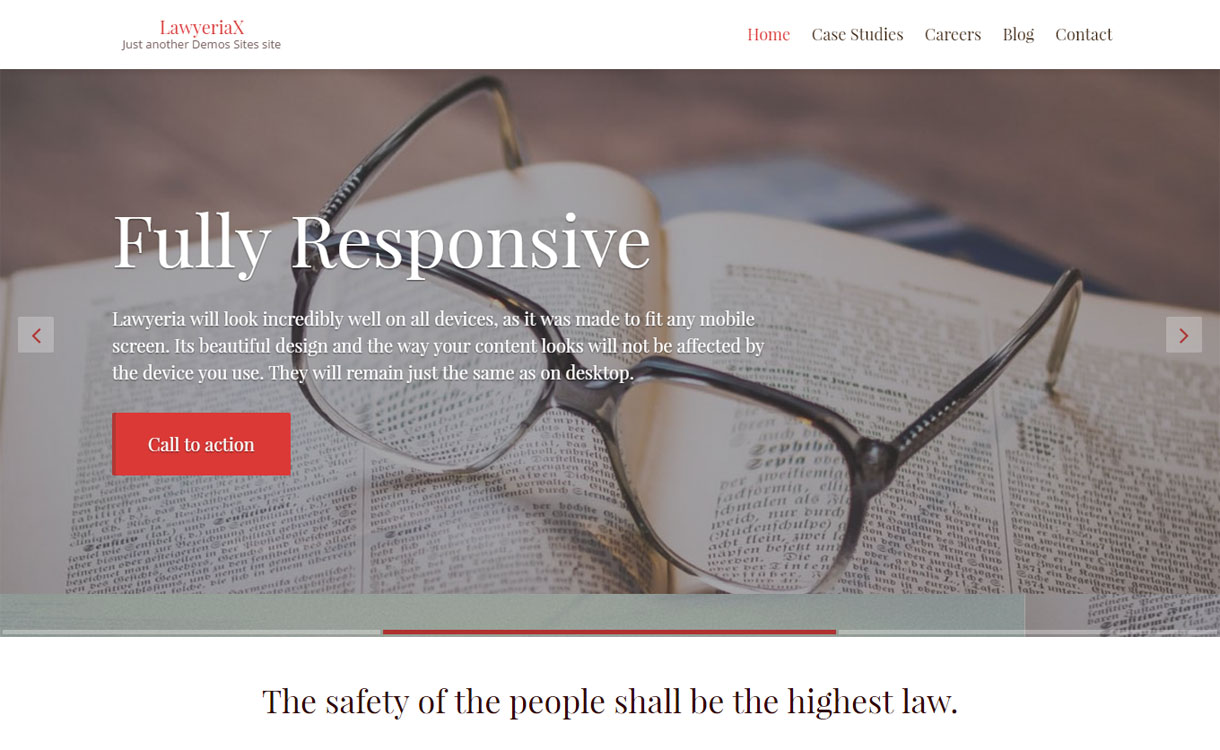 LawyeriaX - Premium Attorney WordPress Theme