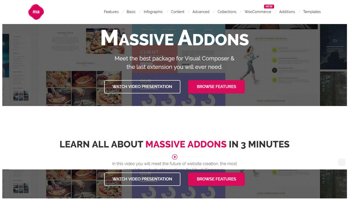 Massive Addons - Responsive WordPress Premium Plugin