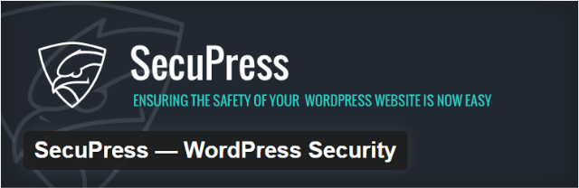 Secupress e1490093500289 - Top 5 Premium WordPress Security Plugins