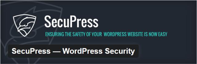 Secupress - Top 5 Premium iThemes WordPress security plugins