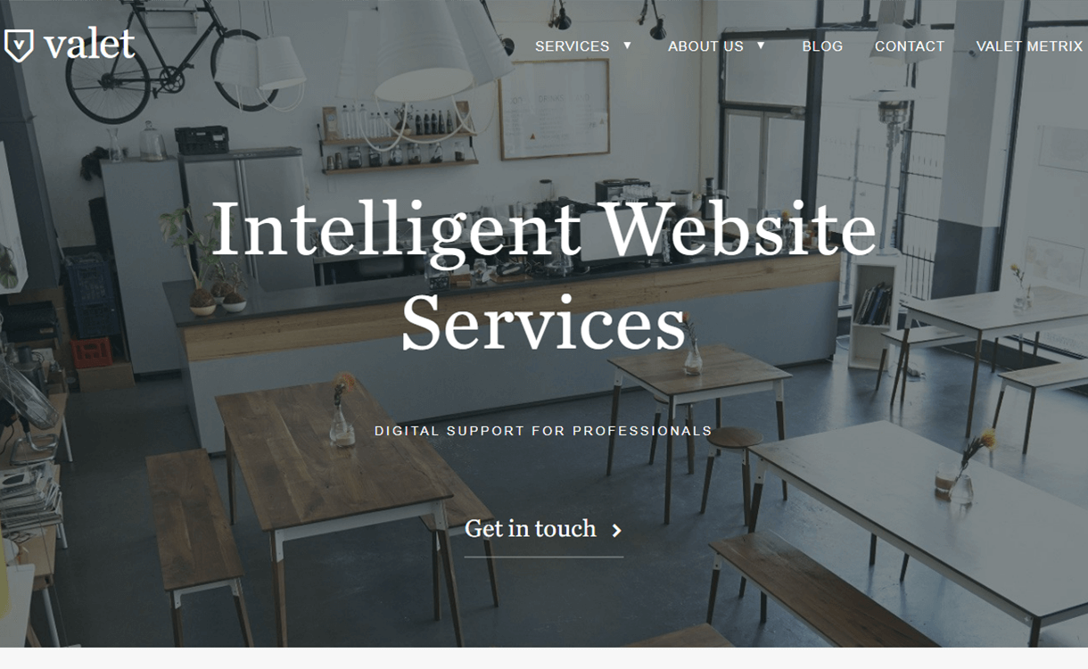 Valet-Support-Theme