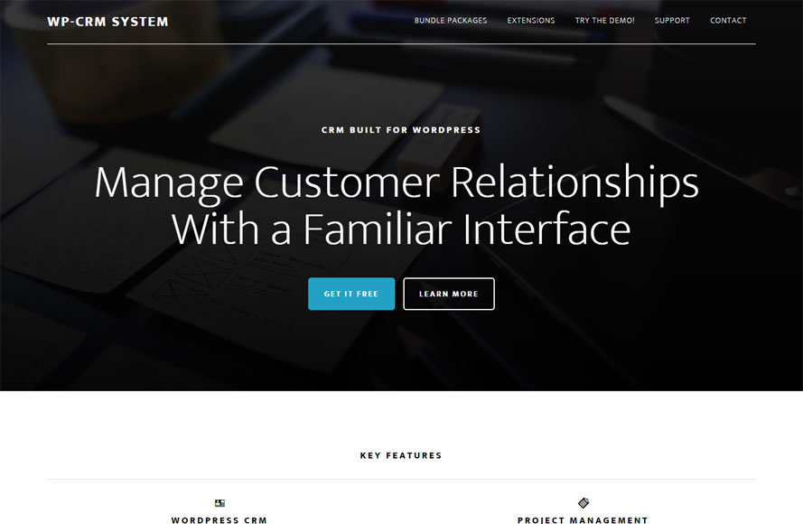 WP-CRM System - WordPress Support and Service