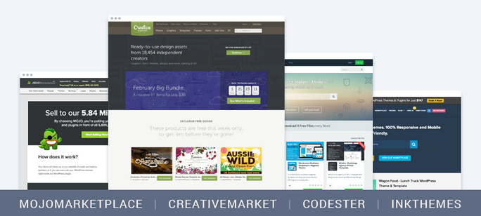 alternative marketplaces - 10 Reasons Why Your WordPress Theme Doesn't Make Enough Sales