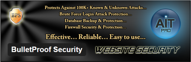 bulletproof e1490093595451 - Top 5 Premium WordPress Security Plugins