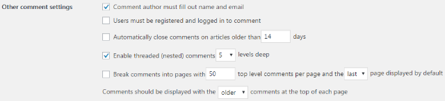 step 3 2 - How to configure Discussion settings in WordPress website