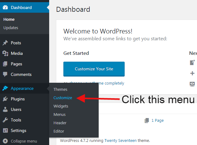 w4step1 e1488369611953 - How to Add Widgets in WordPress website