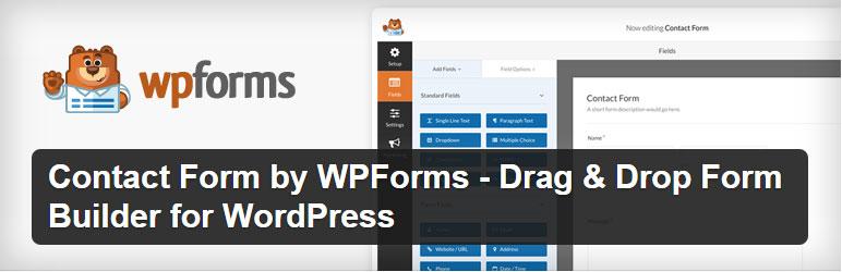 WPForms - Best Free WordPress Form Builder Plugins