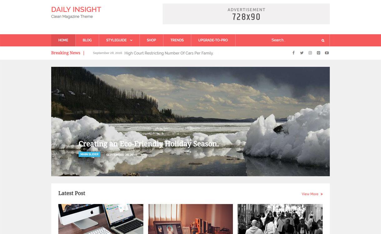 Daily Insight – Free-WordPress-News-Magazine-Theme