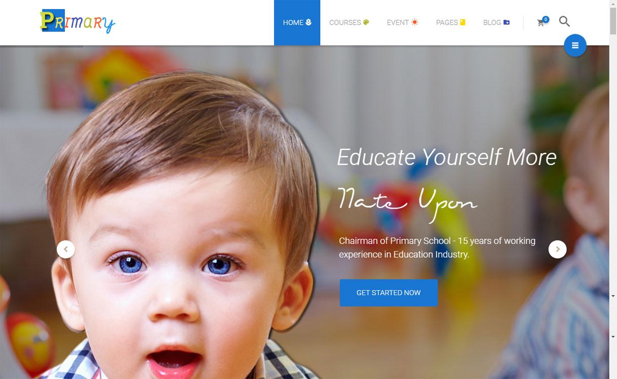 Primary - Premium Educational WordPress Theme