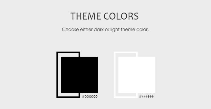 Color scheme - Maggie Lite