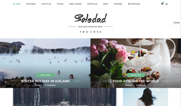 soledad best selling themeforest theme - Top 20 Best Selling WordPress Themes in Themeforest 2019