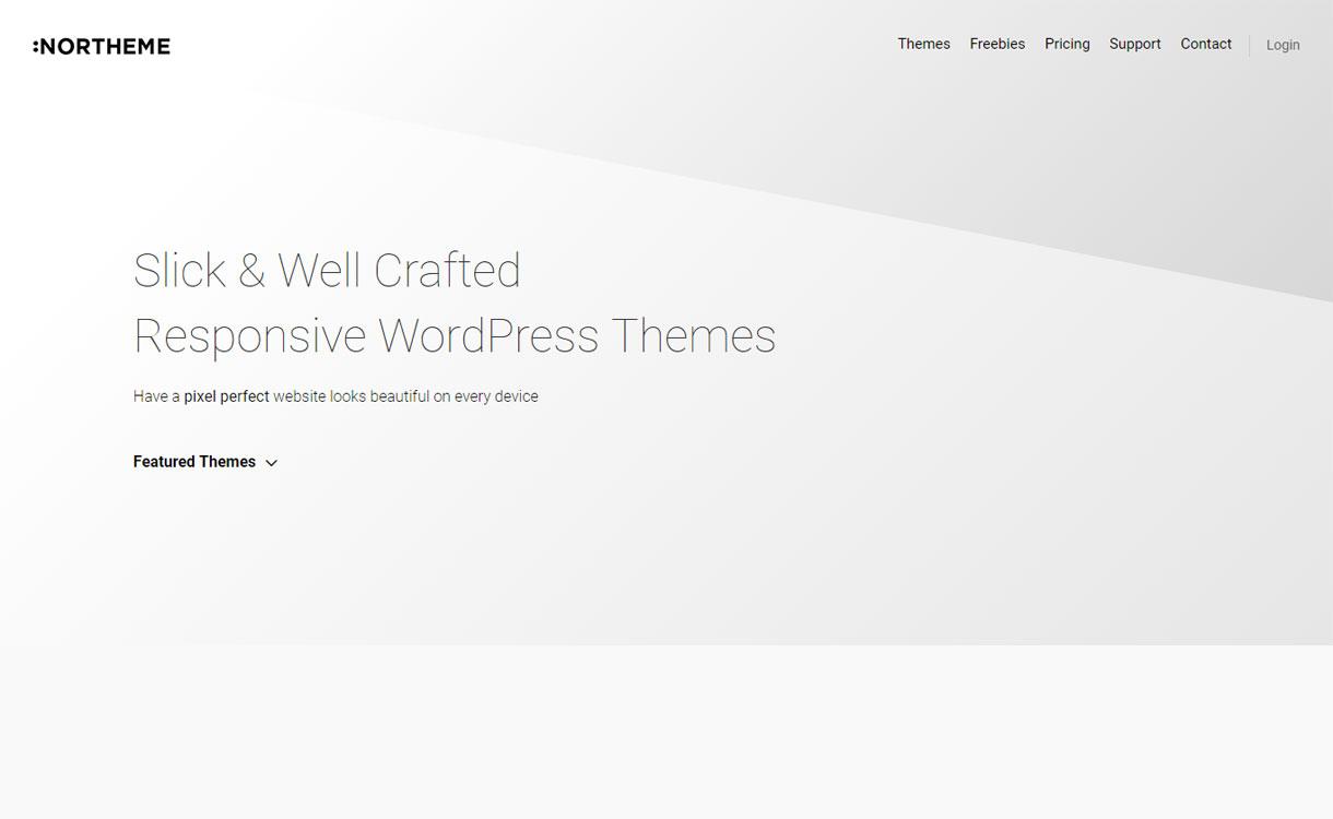 NorTheme - Professional WordPress Theme Store