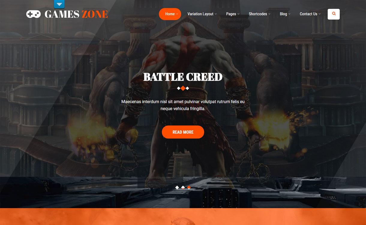 Game Developer - Premium Game Marketing Theme