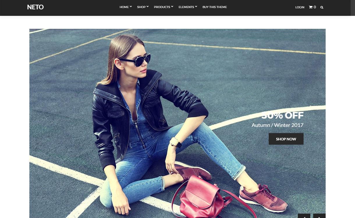Neto - Beautiful eCommerce WordPress Theme