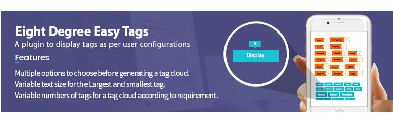 Eight Degree Easy Tags - Free Tag Manager Plugin