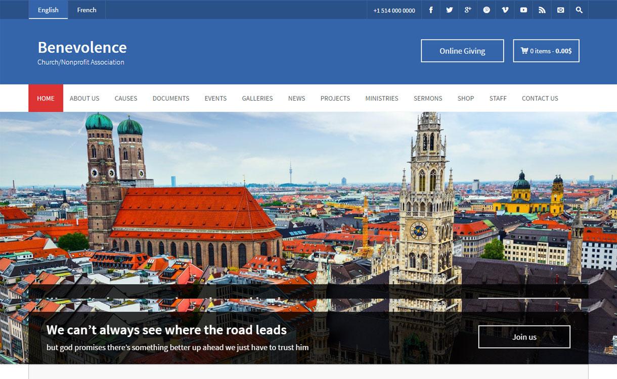 Benevolence - Premium Multipurpose WordPress Theme