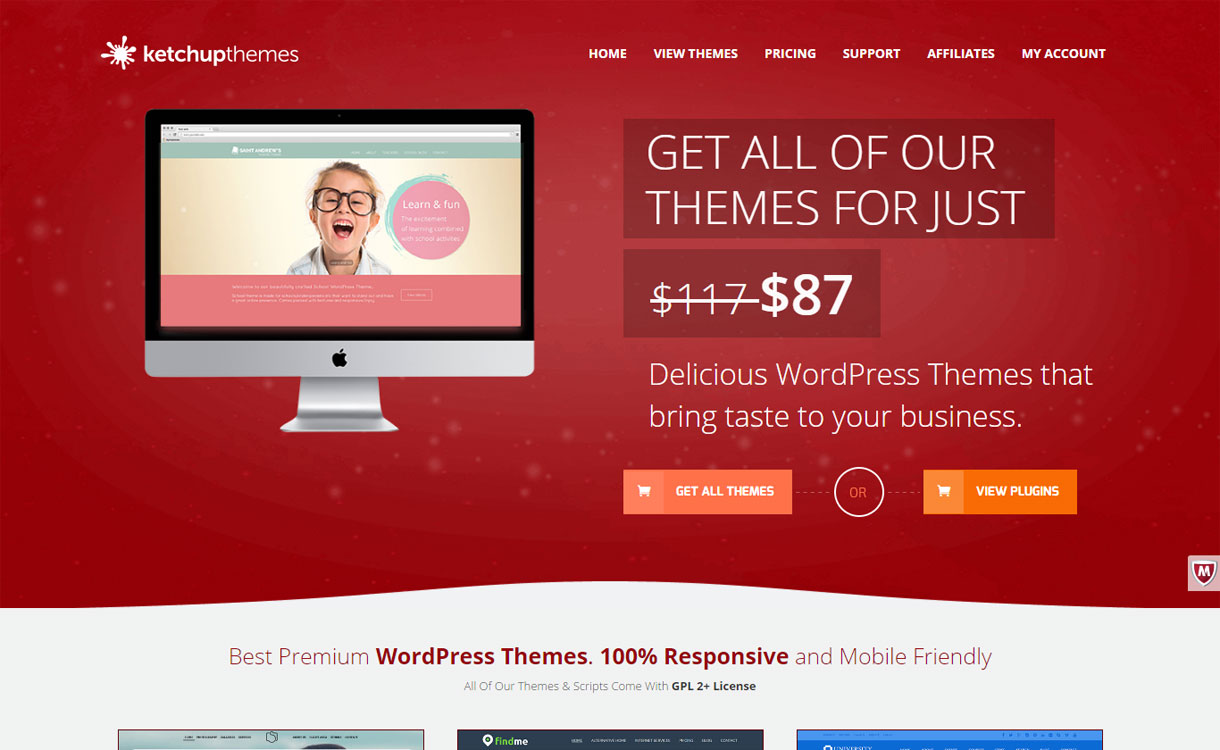KetchUp Themes - Stylish WordPress Theme Store
