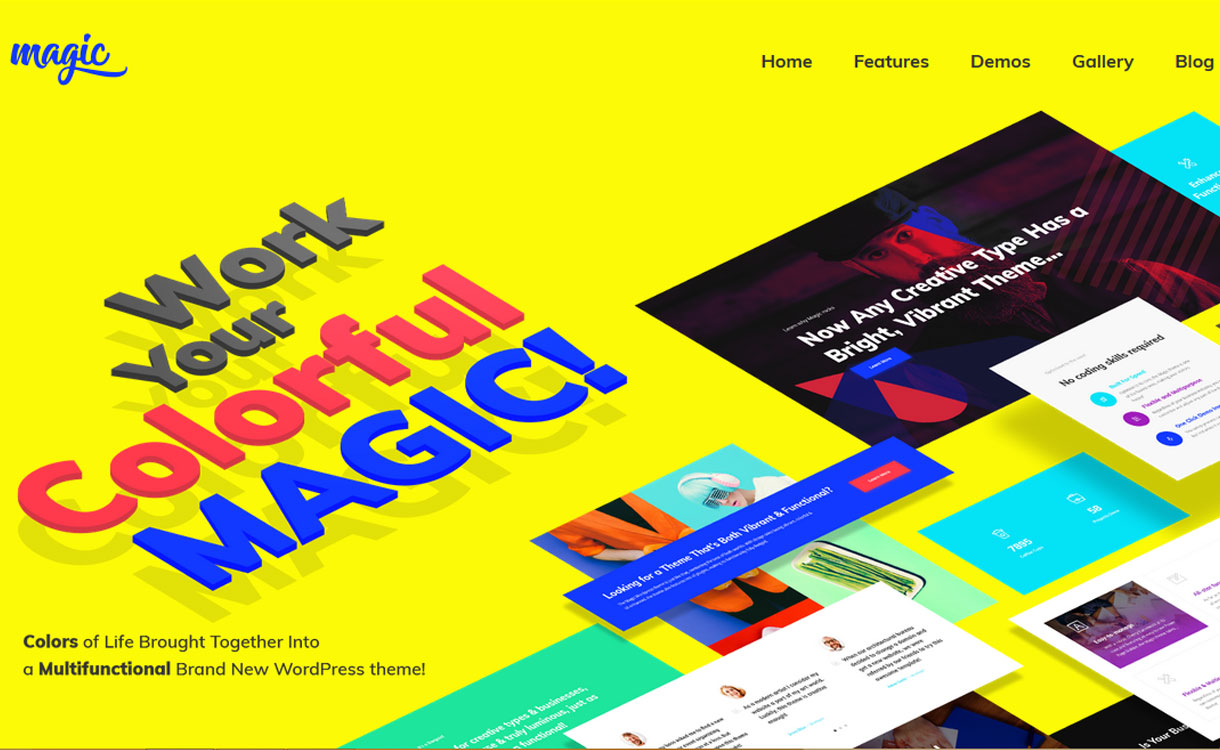 Magic - Multipurpose WordPress Theme