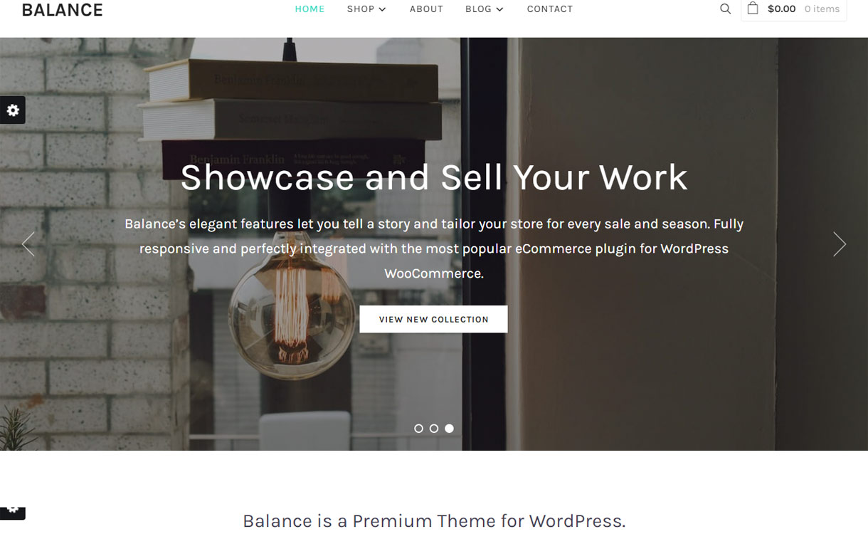 Balance - Premium Business/Agency WordPress Theme for 2017