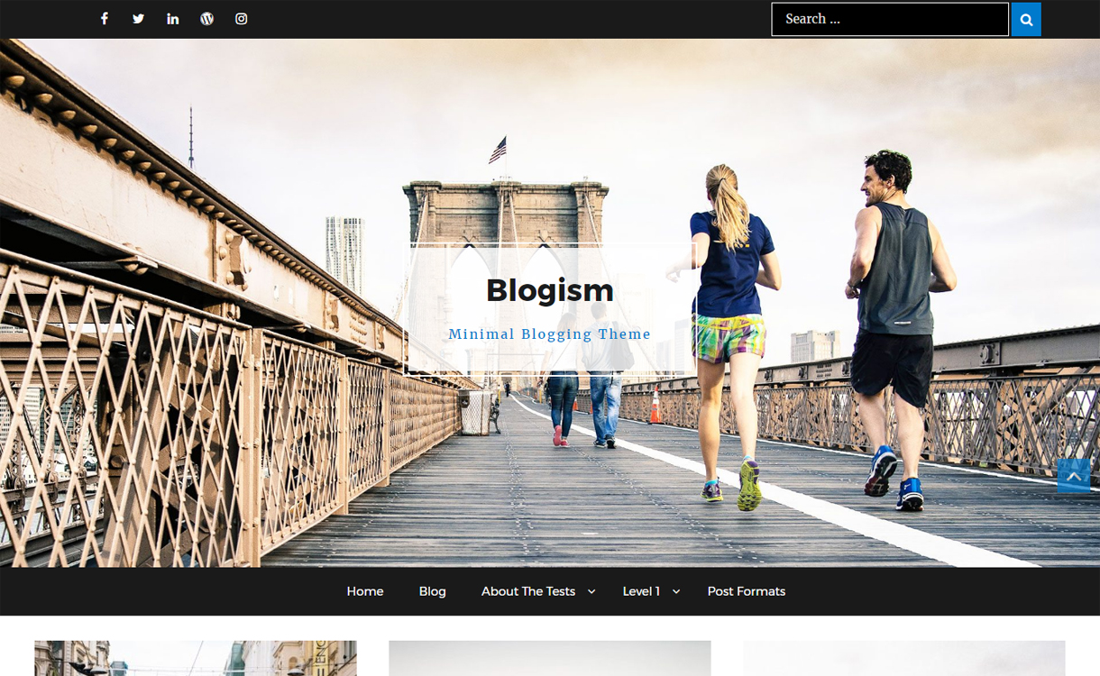Blogism - Minimal Blogging WordPress Theme