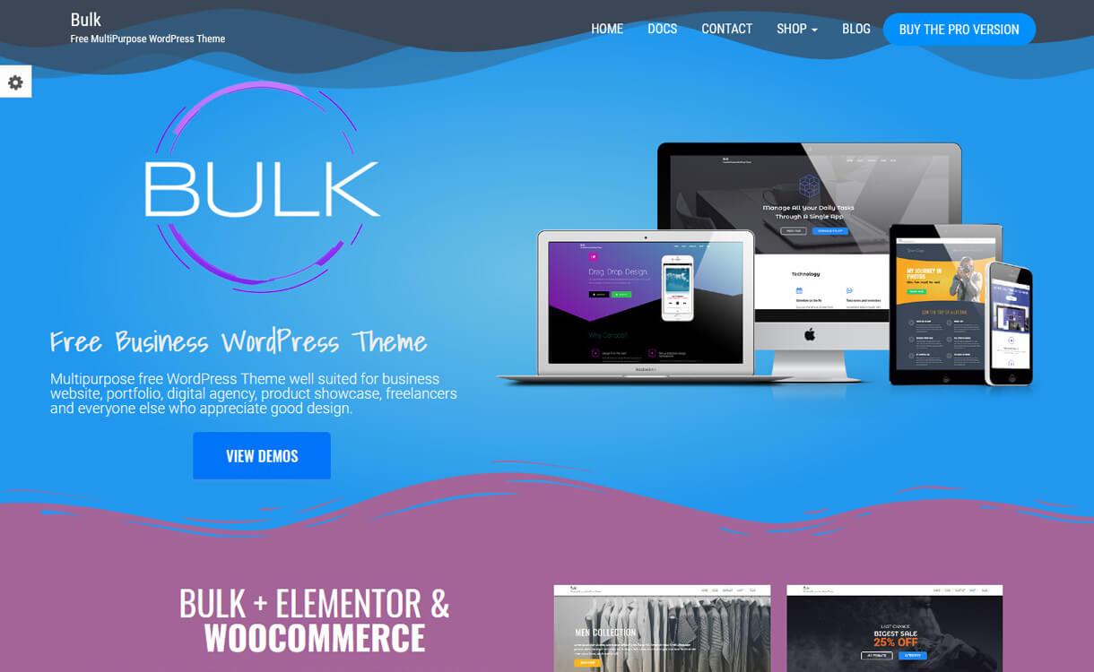 bulk free wordpress landing page theme - 30+ Best Free WordPress Landing Page Themes and Templates 2019