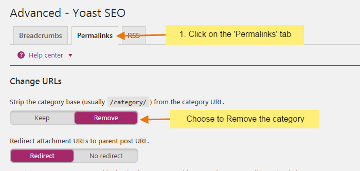 choose to remove category base - How to remove Category base from WordPress URLs