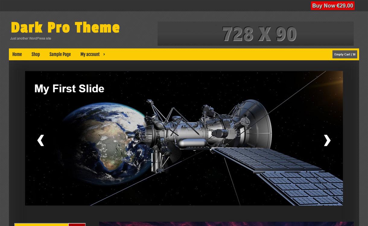 Dark - Stylish Multipurpose WordPress Theme